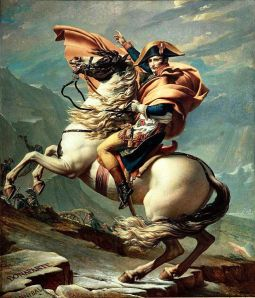 I am zee pretty boy who vill keel  you! Jacques-Louis David [Public domain], via Wikimedia Commons