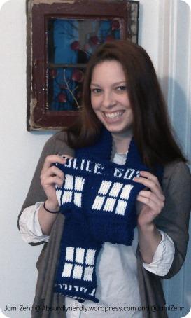 TARDIS scarf giveaway final