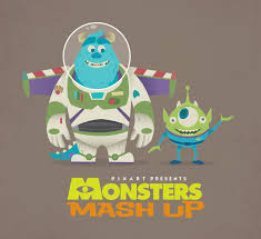 monsters and toy story