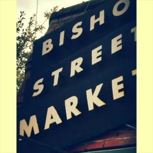 bishop street sign